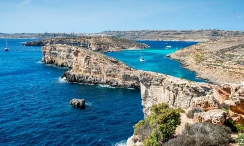 Zdjecie MALTA / Comino / Niebieska Laguna / Malta�skie kraj
