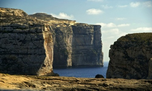 Zdjecie MALTA / Gozo / Gozo / Klify