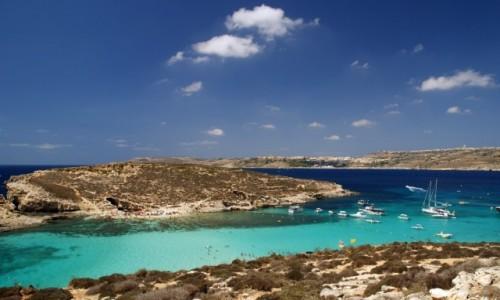 Zdjecie MALTA / Malta / B��kitna Laguna / Pomi�dzy Comino