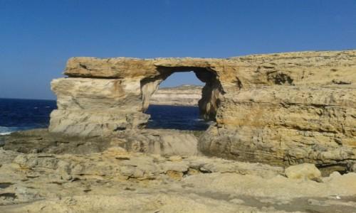 Zdjecie MALTA / Gozo / Gozo / Azure window