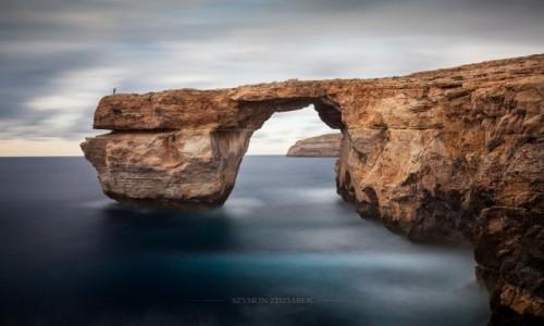 Zdjęcie MALTA / Gozo / Azure Window / Autoportret