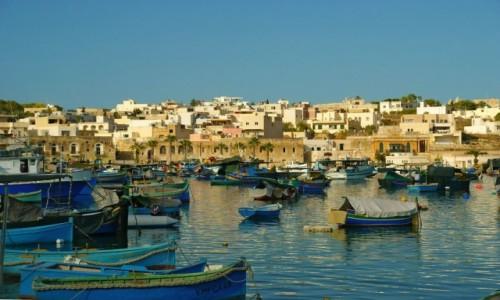 Zdjęcie MALTA / Malta / Marsaxlokk / Marsaxlokk