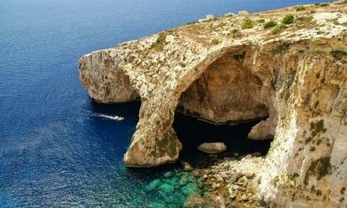 Zdjecie MALTA / Malta / Malta / Blue Grotto