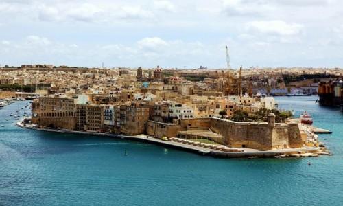 Zdjęcie MALTA / Valletta / Birgu / Ufortyfikowane miasto