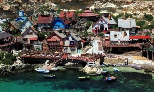 Zdjęcie MALTA / Melieha / Ankor Bay  / Filmowa wioska Popeye