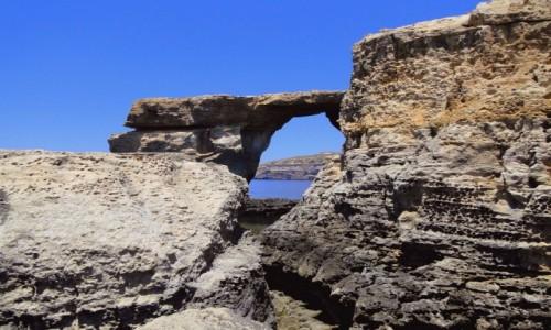 Zdjecie MALTA / Gozo / Lazurowe Okno / Jeszcze jedno wspomnienie Lazurowego Okna.