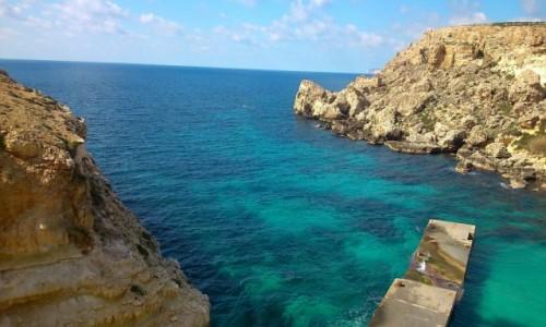 MALTA / - / Popeye Village / zima na Malcie
