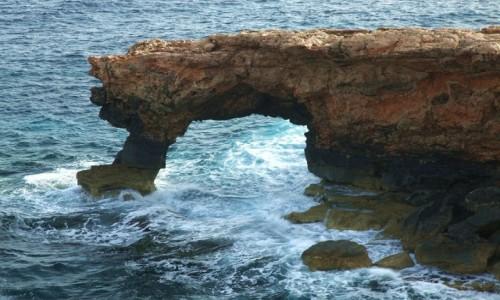 MALTA / Malta południowa / Ras il Hamrija / Błękitne okno
