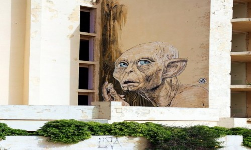 Zdjęcie MALTA / Zatoka św. Tomasza / Marsaskala / Mural