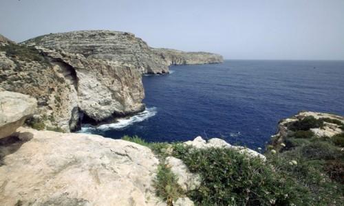 Zdjęcie MALTA / Malta południowa / Wied iż-Żurrieq / Spacer po klifach