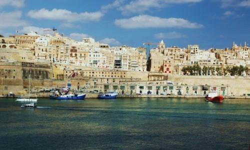 Zdjęcie MALTA / Birgu, czyli Vittoriosa / Fort Saint Angelo / La Valletta