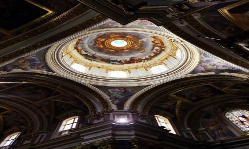 Zdjęcie MALTA / Mdina / Katedra / Sklepienie