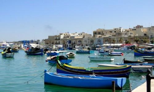 Zdjecie MALTA /    / Marsaxlokk / Maltańskie wspomnienie (4)