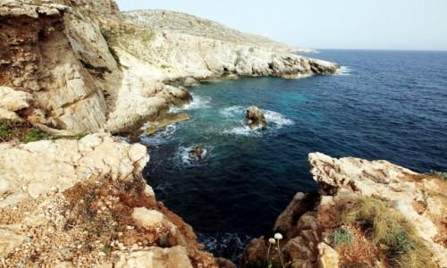 MALTA / Siġġiewi / Zatoka Ghar Lapsi  / Miejsce warte polecenia