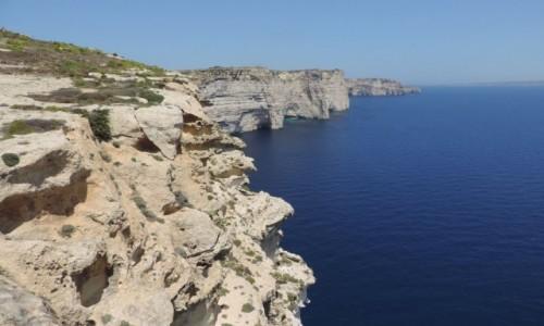 Zdjecie MALTA / Gozo / Sanap Cliffs / Sanap Cliffs
