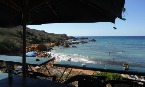 Zdjecie MALTA / Gozo / San Blas Bay / San Blas Bay, Gozo, Malta
