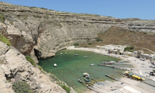 Zdjecie MALTA / Gozo / Inland Sea / Inland Sea, Gozo