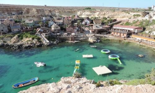 MALTA / Malta / Popeye Village / Popeye Village