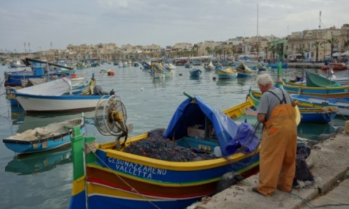 Zdjecie MALTA / Marsaxlokk / Marsaxlokk / Wioska rybacka