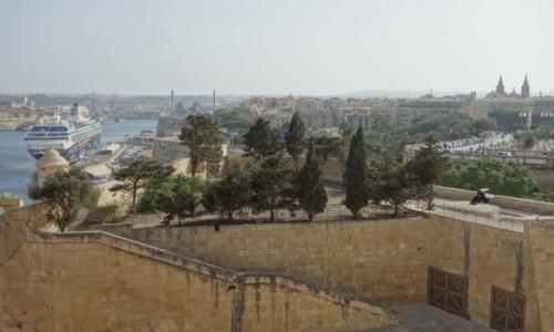 Zdjecie MALTA / Valletta / Upper Barrakka Gardens / Valletta