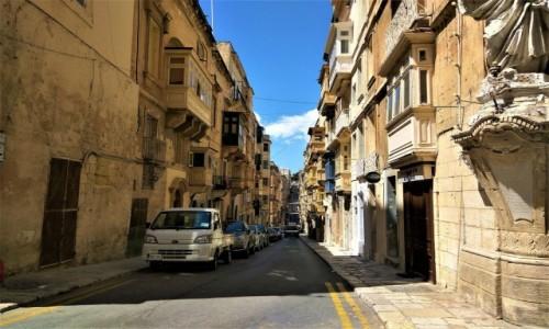 Zdjecie MALTA / Valetta / Malta / Ulice Valetty