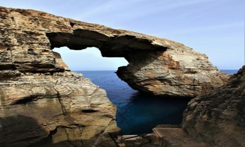MALTA / Gozo / Wied il-Mielah  / To warto zobaczyć