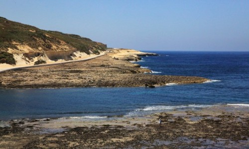 MALTA / Gozo / Zatoka Xwejni / Droga do Żebbuġ
