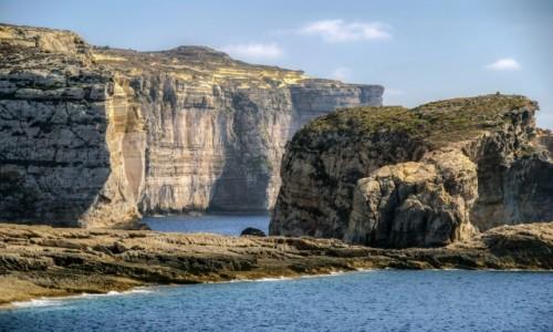 Zdjęcie MALTA / Gozo / Gozo /  zatoka Dwejra