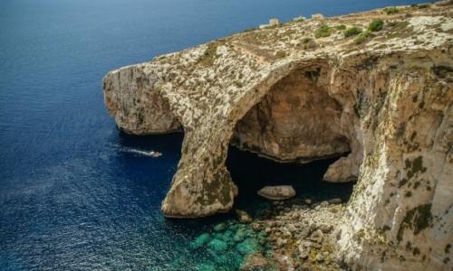 Zdjęcie MALTA / - / Malta / Blue Grotto.