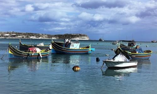 Zdjęcie MALTA / Malta Południowo-wschodnia / Marsaxlokk  / W porcie