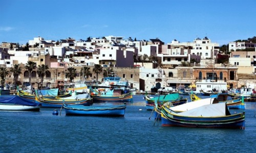 Zdjęcie MALTA / Marsaxlokk / Port rybacki  / Gdzie czas się zatrzymał