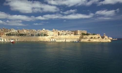 Zdjęcie MALTA / Vittoriosa (Birgu)  / Fort Saint Angelo / La Valletta