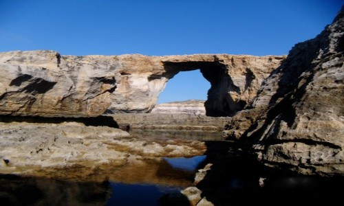 MALTA / Gozo / Azure Window / To już historia