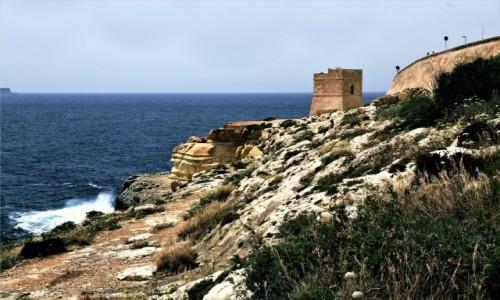 Zdjęcie MALTA / Malta południowa / Wied iż-Żurrieq  / Strażnica