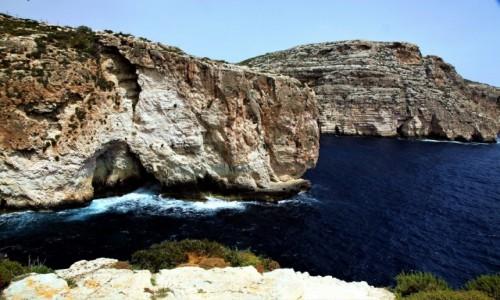 Zdjęcie MALTA / Malta południowa / Wied iż-Żurrieq  / Klify