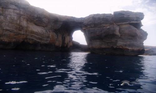 Zdjecie MALTA / Gozo / Azure Window / Okno od morza