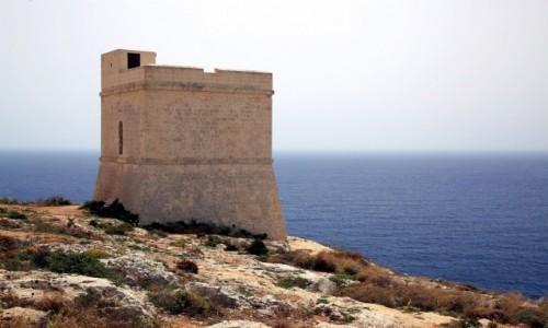 Zdjęcie MALTA / Siġġiewi / Għar Lapsi  / Wieża obserwacyjna