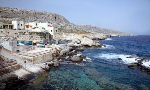 Zdjęcie MALTA / Siġġiewi / Għar Lapsi  / Mało uczęszczany zakątek