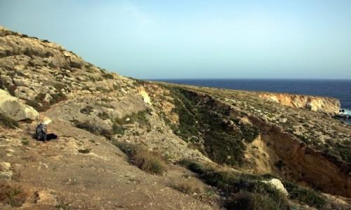 Zdjecie MALTA / Siġġiewi / Għar Lapsi  / Kontemplacja