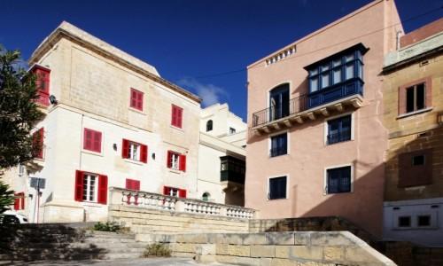 Zdjecie MALTA / Valletta / . / Okiennice i balkony