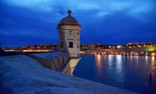 Zdjecie MALTA / wschodnie wybrzeże / Ogród Gardjola / Widok na Vallettę z Ogrodu Gardjola