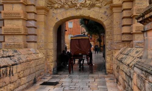 MALTA / środkowa Malta  / Mdina / Deszczowy dzień w Mdinie 2