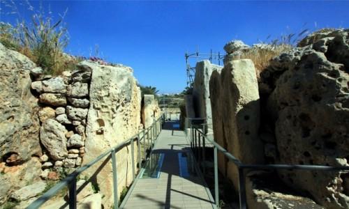 MALTA / Gozo / Xagħra / Budowla megalityczna