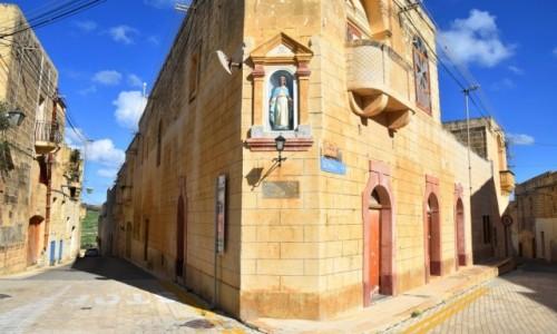 Zdjecie MALTA / wyspa Gozo / Gharb / Spacerując uliczkami w Gharb