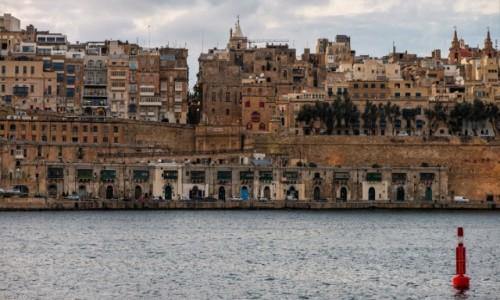 Zdjecie MALTA / Malta / La Valletta / Zmierzch nad La Valletta