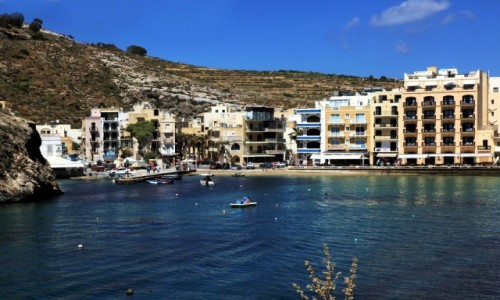 Zdjęcie MALTA / Gozo / Xlendi  / Maltański kurort