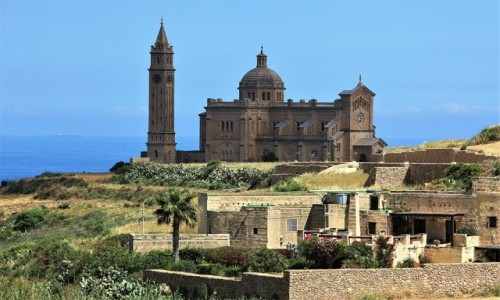 Zdjęcie MALTA / Gozo / . / Bazylika Ta' Pinu