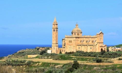 Zdjęcie MALTA / Gozo / okolice Gharb, północne wybrzeże / Bazylika Ta' Pinu