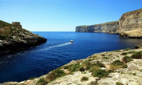 Zdjęcie MALTA / Gozo / Xlendi  / Zatoczka