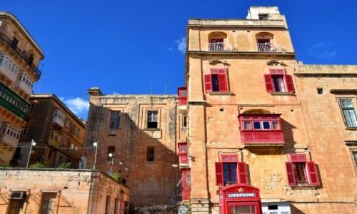 Zdjęcie MALTA / wschodnie wybrzeże / Valletta / Kamienice Valletty